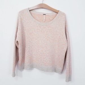 Free People Over-sized Boat Neck Sweater